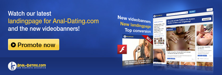Anal-Dating neue Landingpage Mai 2013
